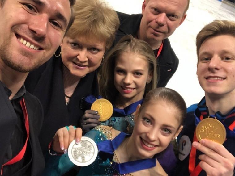 девять медалей двенадцати фантастический результат глава федерации фигурного