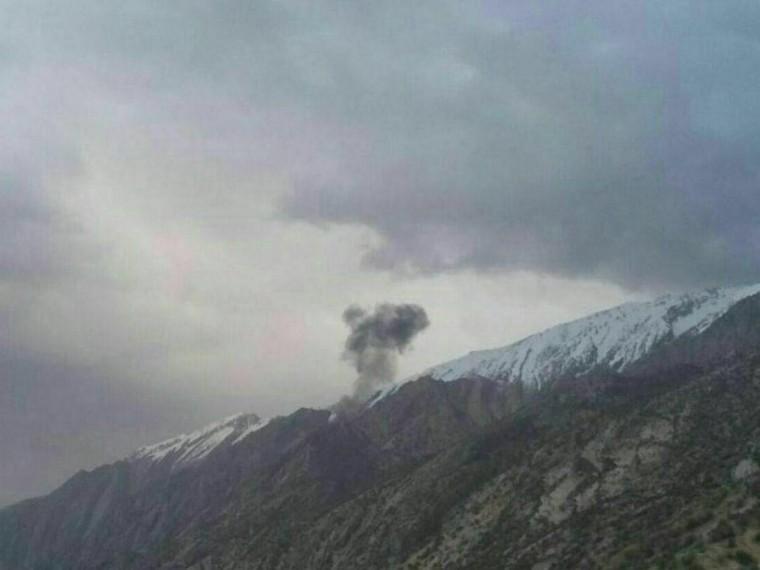 названа предварительная причина крушения турецкого самолёта иране