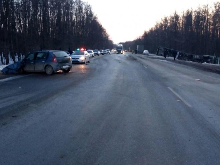 башкирии результате дтп грузовиком погибла женщина трое пострадали