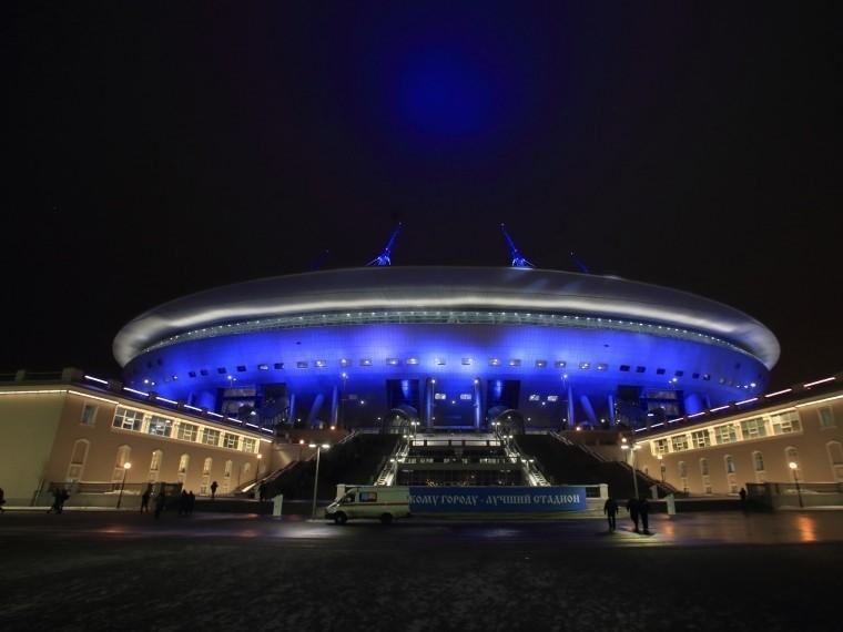 «Зенит-арена» вошла всписок лучших стадионов2017года