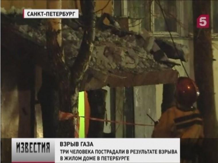 Наюге Петербурга вжилой многоэтажке взорвался бытовойгаз