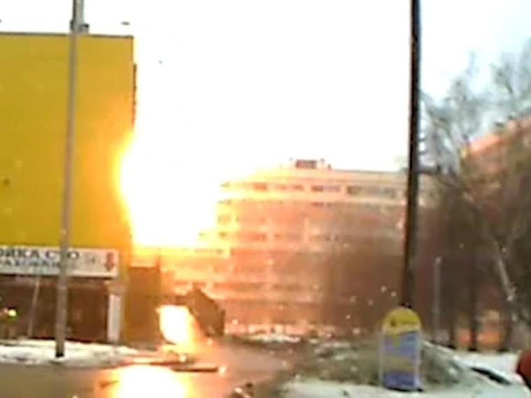 Очевидец взрыва газа вПетербурге рассказал, как спасал жителей пострадавших квартир