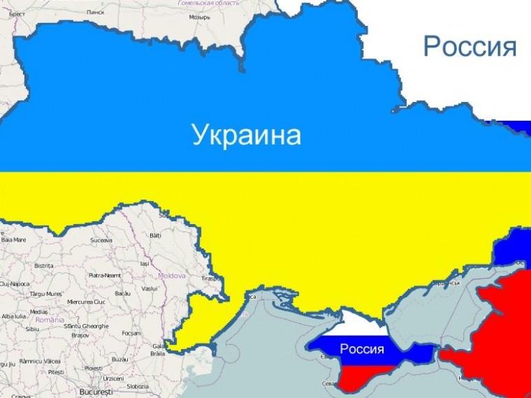 Украинский телеканал признал, что показал карту страны без Крыма