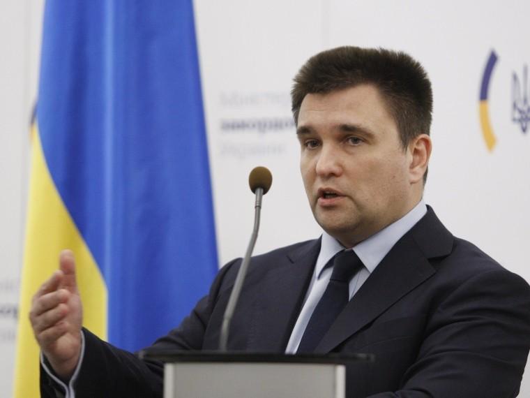 глава мид украины призвал ввести санкции против экс-канцлера