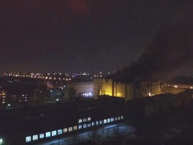пожар кемеровском начался детском аттракционе
