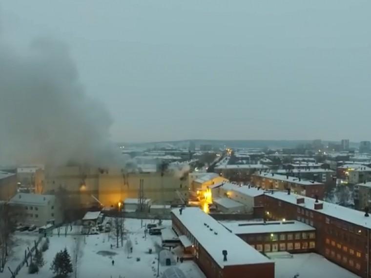 задержана гендиректор компании-собственника здания сгоревшего кемерово
