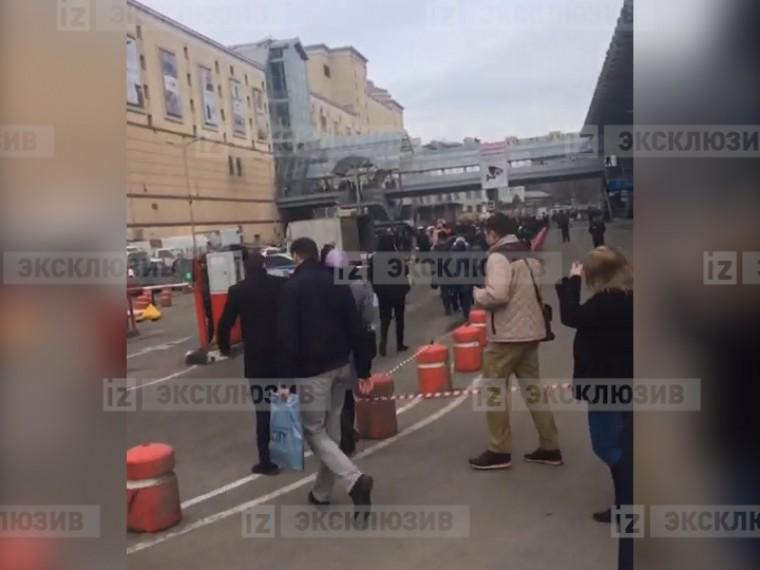 курском вокзале москве проводится срочная эвакуация пассажиров