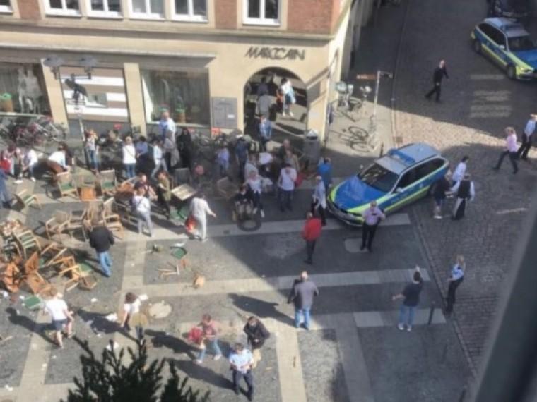 власти германии выразили соболезнования связи трагедией мюнстере