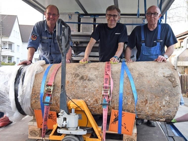 эвакуированы германии найденной бомбы времен мировой