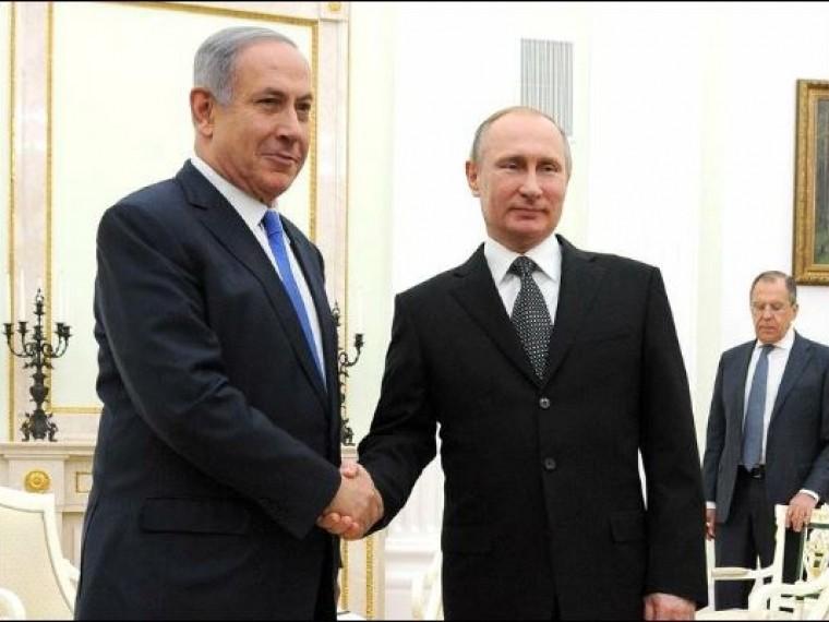 Нетаньяху предупредил Путина, что Израиль недопустит военного присутствия Ирана вСирии