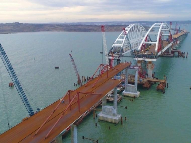 На«Яндекс. Картах» появился Крымский мост