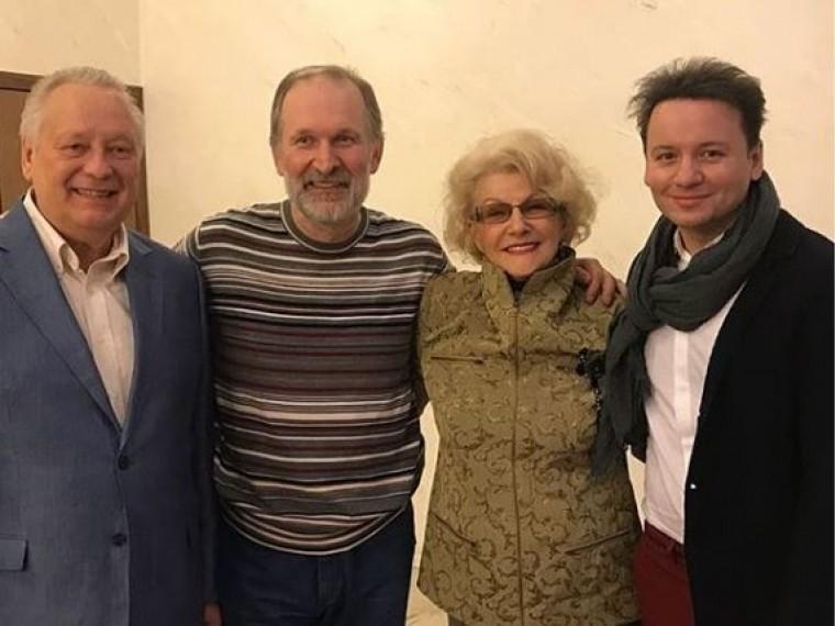 Федор Добронравов оправился послеболезни ивернулсянасцену