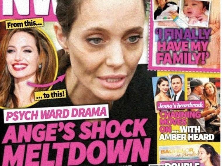 Брэд Питт намерен отправить истощенную Джоли напринудительное обследование психики