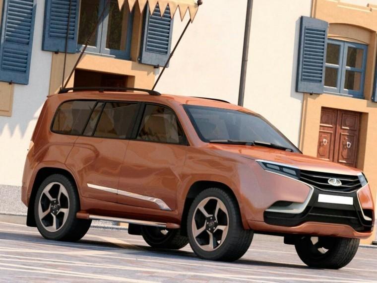 Всети показали новый внедорожник Lada XXL