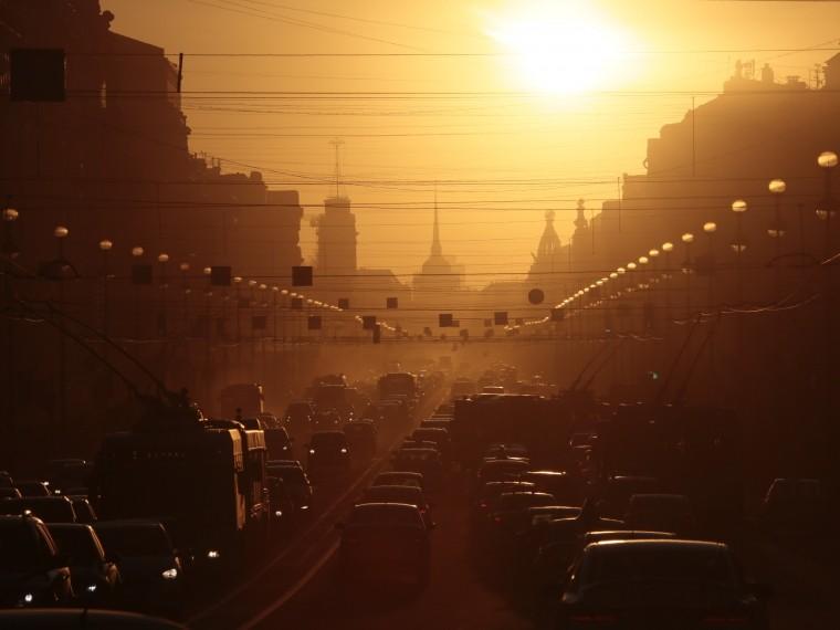 синоптики пообещали петербуржцам солнечную погоду начале недели