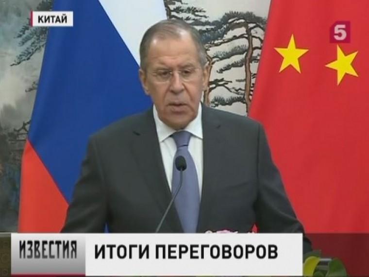 россия китай потребовали расследования озхо давления извне