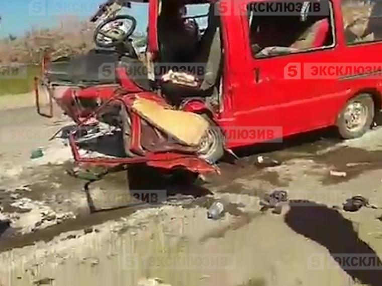 первое видео страшного дтп автобусом крыму