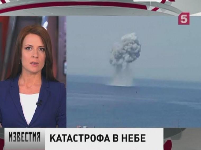 раскрыли обстоятельства крушения истребителя су-30см побережья сирии