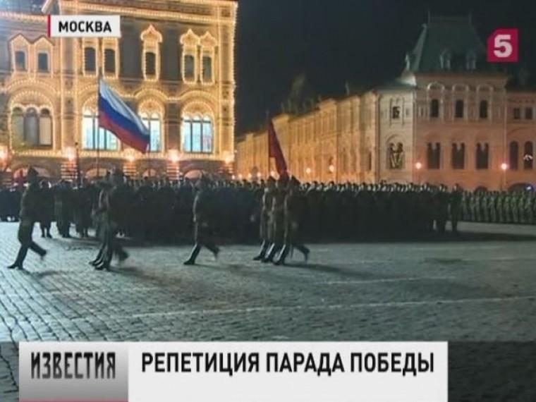 Вцентре Москвы прошла репетиция парада вчесть Дня Победы. Что мыувидим 9мая?