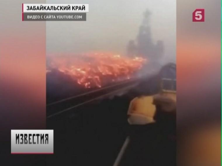 «Полыхало как ваду»— ВЗабайкалье локализован пожар наХаранорском угольном разрезе