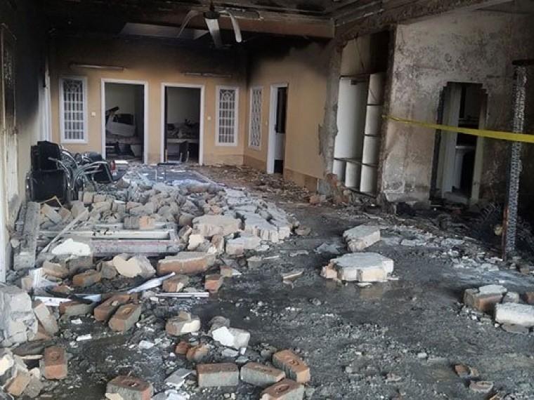семья пяти погибла взрыве гостинице пакистане фото