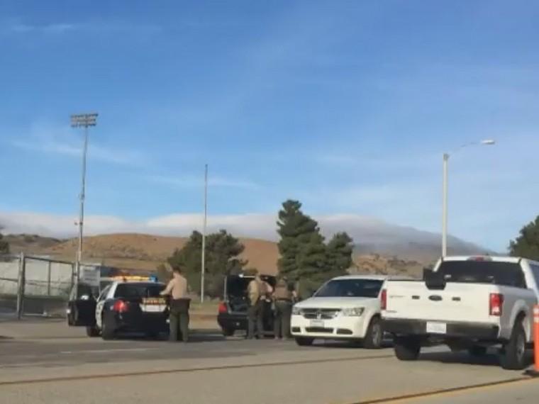 Первое видео изкалифорнийской школы, где произошла стрельба