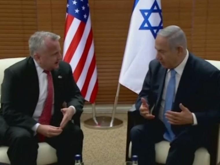 Нетаньяху призвал все страны перенести свои посольства вИерусалим