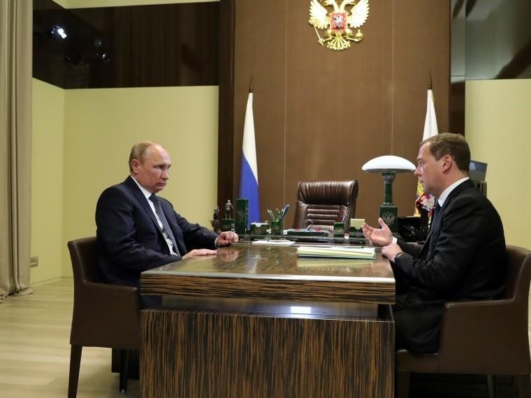 «Ясогласен»— Владимир Путин одобрил состав нового Кабмина РФ
