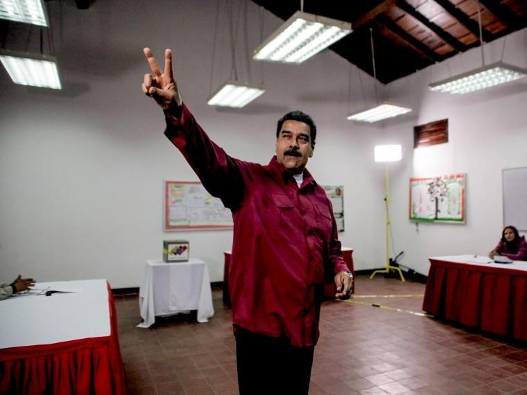 мадуро официально объявили президентом венесуэлы