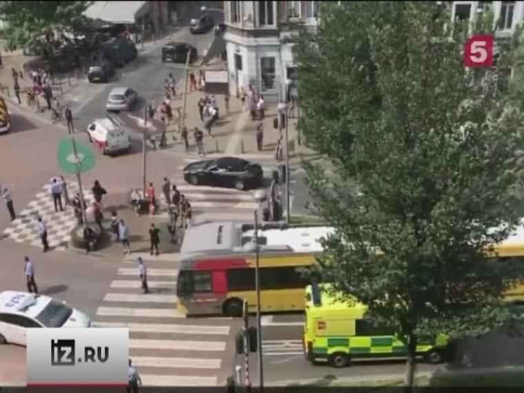бельгийском городе льеж неизвестный открыл стрельбу кафе