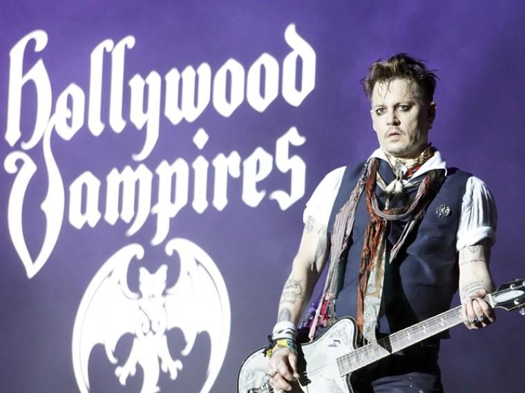видео концерта вампиров джонни деппа петербурге