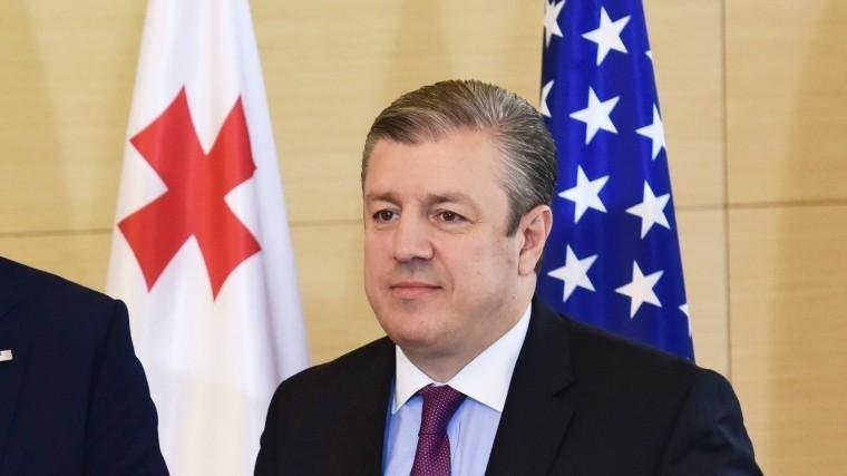 Грузинский премьер Квирикашвили ушел вотставку— видео