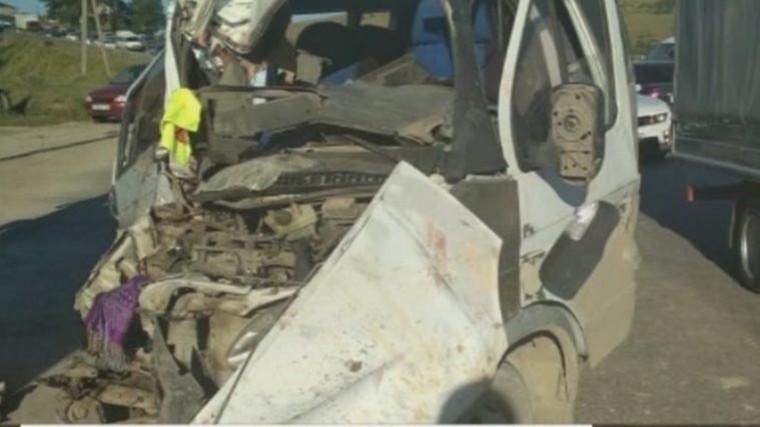 Трое пострадавших при ДТП смаршруткой вДагестане— втяжелом состоянии