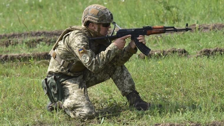 украинские силовики обстреляли поселок днр американской системы рембасс-2