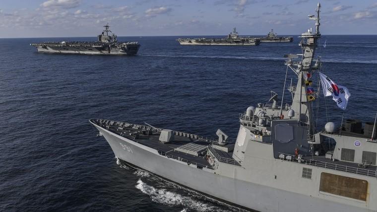 Военные корабли КНДР иЮжной Кореи восстановили связь впервые за10 лет