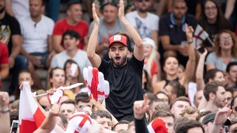 Более78 тысяч болельщиков в«Лужниках» следят заматчем Хорватия— Англия