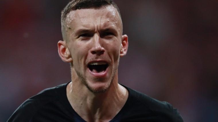 нападающий иван перишич лучшим игроком матча хорватия англия