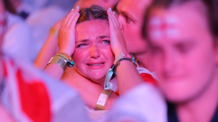 Джаггер, Собчак, радость, горе икокошники— все краски матчаХорватия-Англия