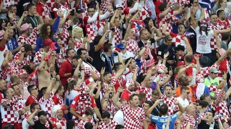 Видео: вся Хорватияликует послемачта ЧМ-2018 сАнглией