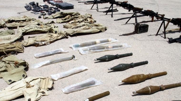 склады оружия боеприпасов белых касок обнаружены сирии