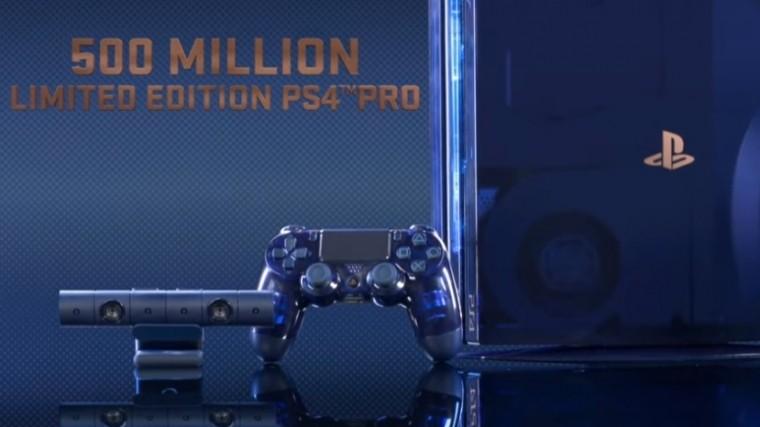 Sony показала прозрачную консоль PlayStation4 ограниченной серии