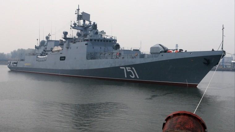 Российский фрегат «поймал» американскую подлодку вСредиземном море