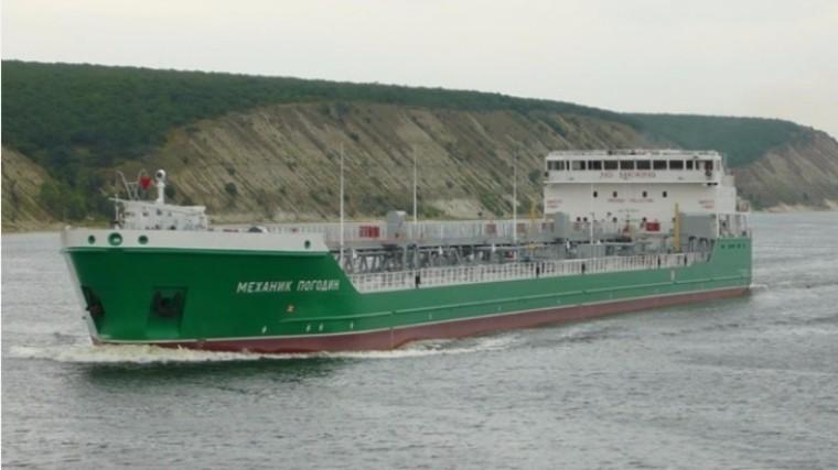 Стало известно осостоянии здоровья членов экипажа танкера «Механик Погодин»