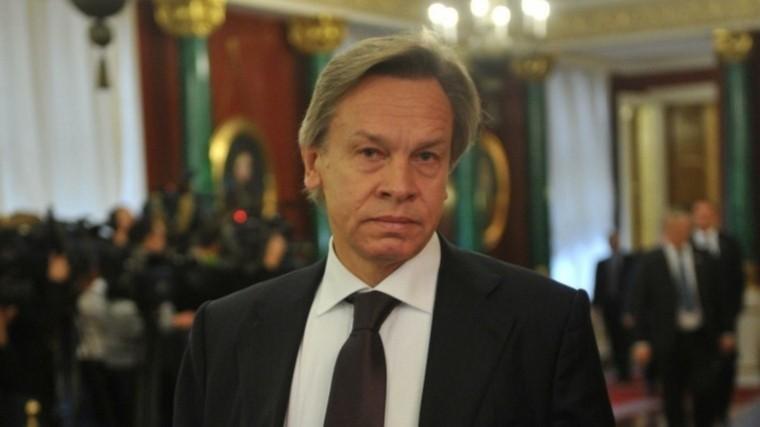 «Никакого запрета несуществует»— Пушков считает заявление Вайкуле лживым