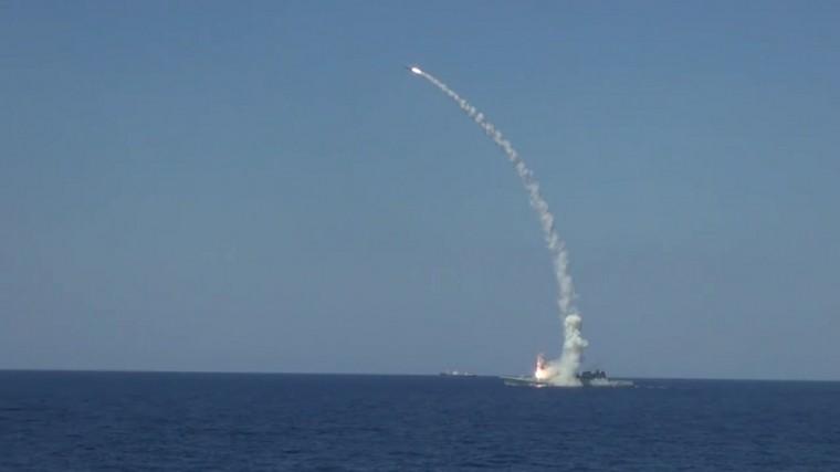 Впечатляющий запуск «Калибров» вЧерном море попал навидео
