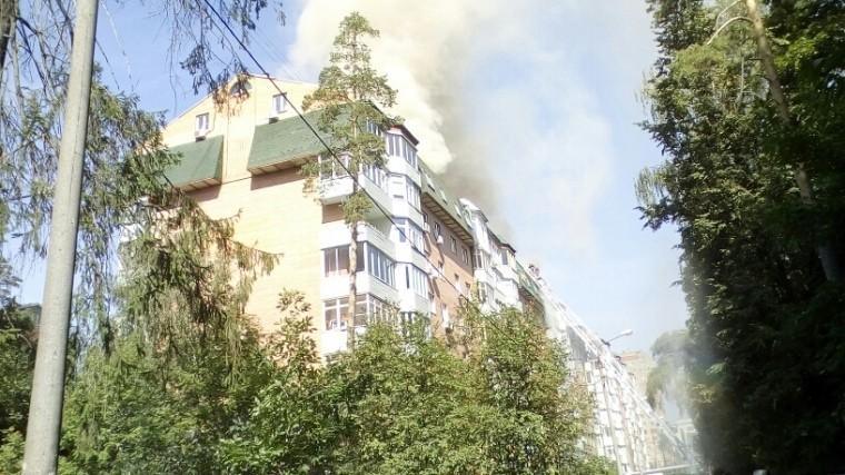 Припожаре вКоролеве пострадала квартира ракетостроителяВладимира Дворкина