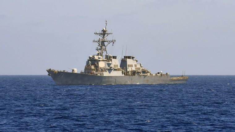 ВСредиземное море вошел американский эсминец скрылатыми ракетами— Миноброны