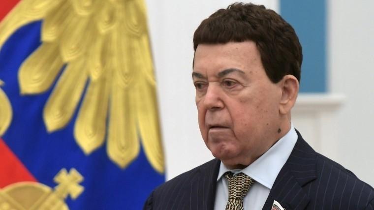 ВГосдуме РФподтвердили информацию осмерти Иосифа Кобзона