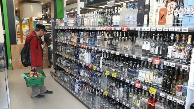 Россияне поддержали запрет напродажу алкоголя до21 года
