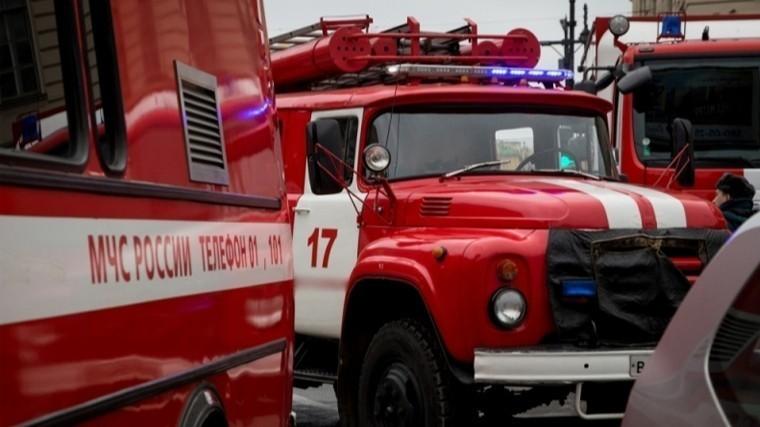 Склад картонной тары загорелся вНижнем Новгороде
